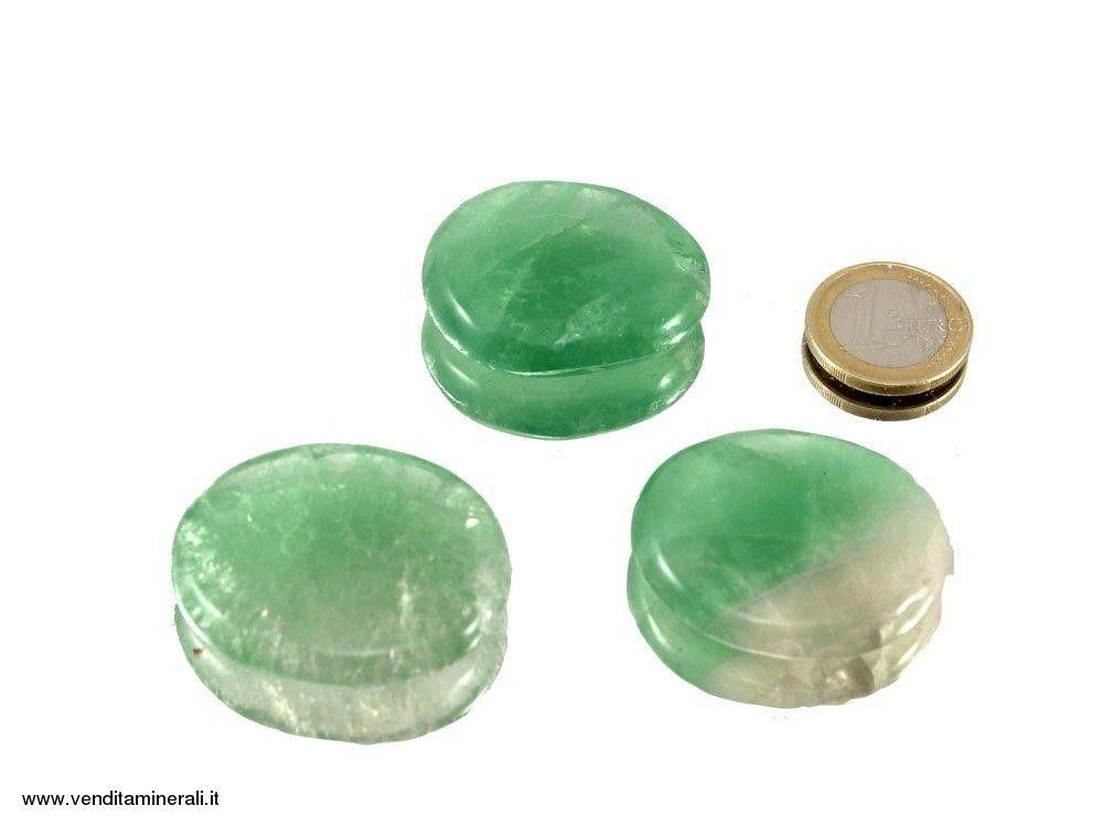 Pietra tascabile di fluorite - 1 pezzo