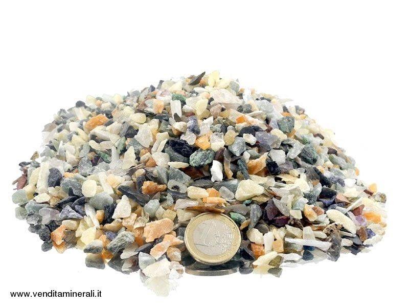 Miscela di pietre ruvide 0,5 - 1,5 cm 1 kg