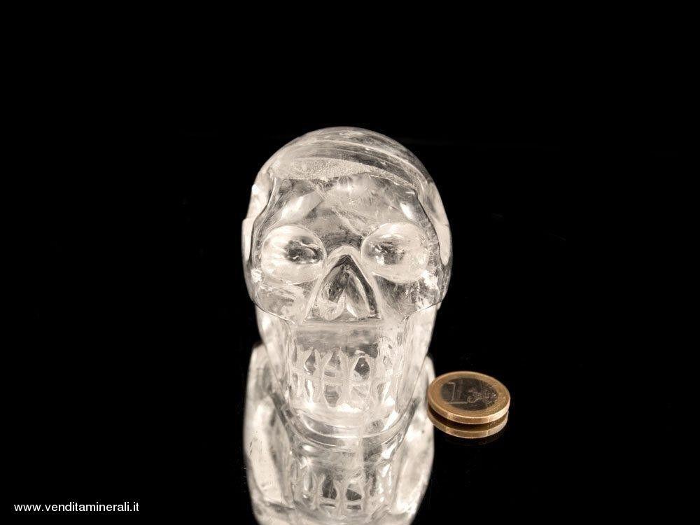 Teschio di cristallo - bellissima qualità