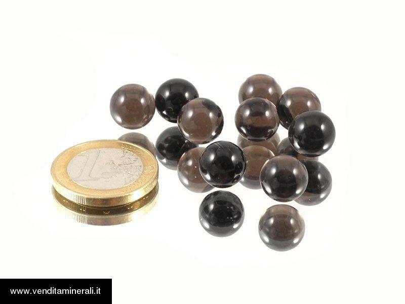 Palline di ossidiana - 10 pezzi