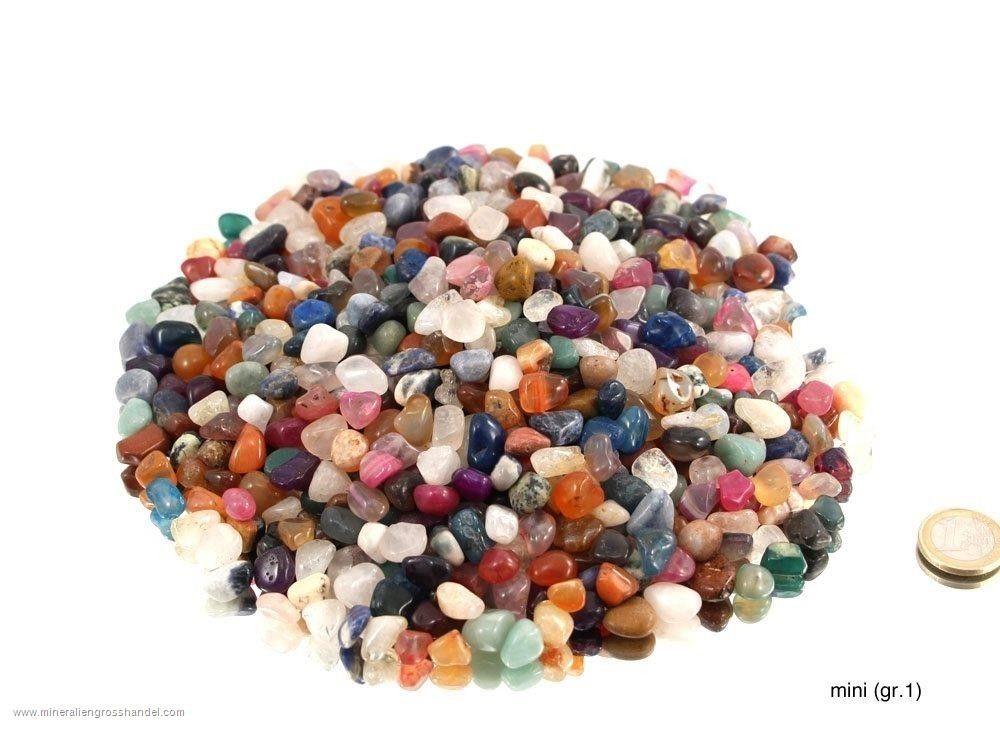 Mix di pietre burattate