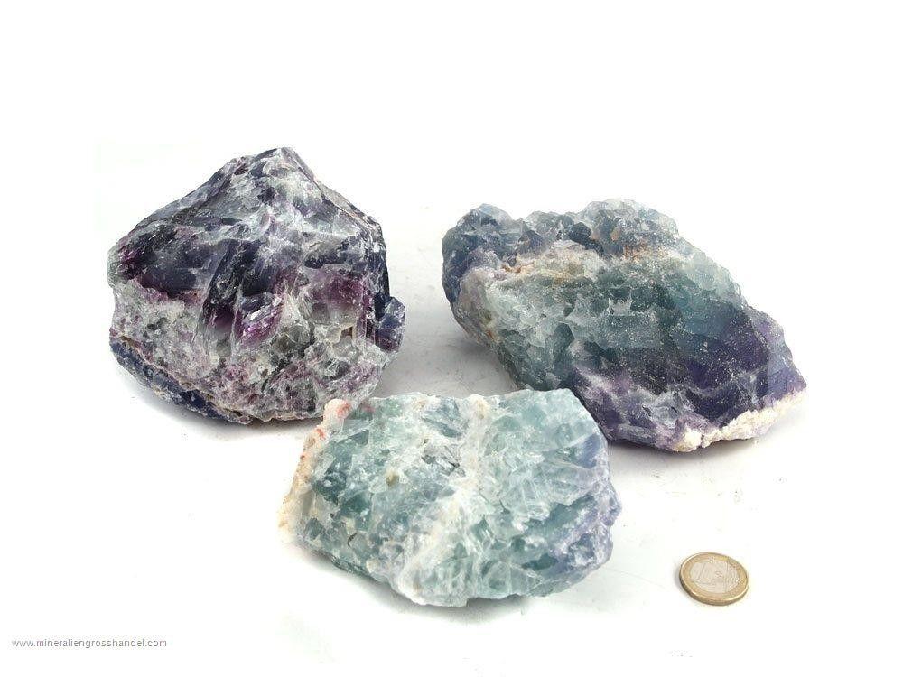 Pietre grezze di fluorite - 1 kg