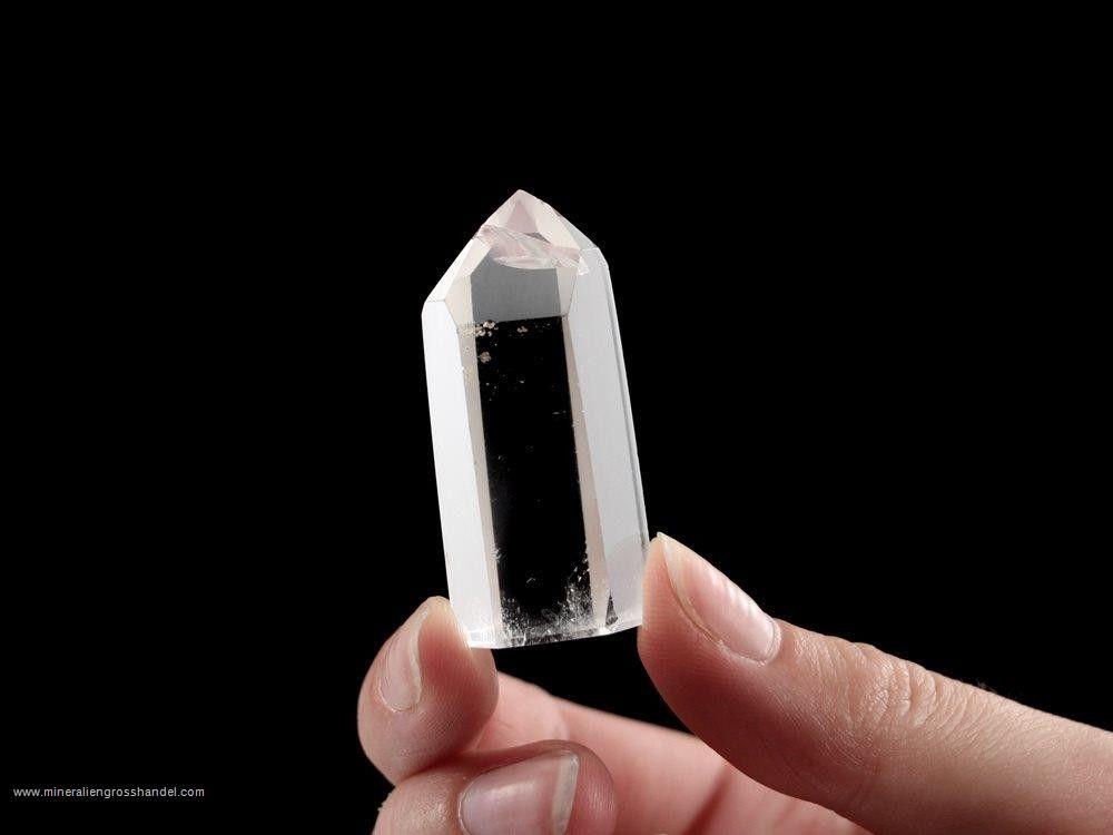 Cristallo di rocca - singolo cristallo lucido - 1 pezzo