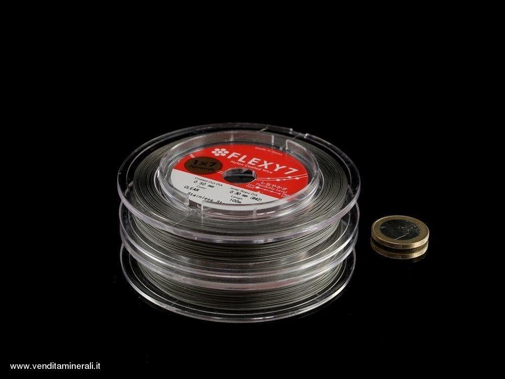 Filo per bordatura - 7 fili di acciaio 0,5 mm / 100 m