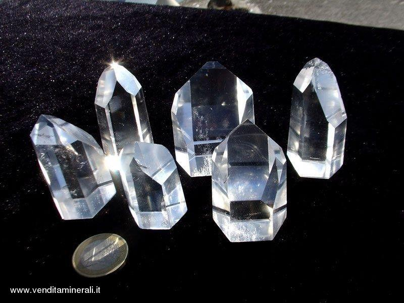 Cristalli di roccia - lucidati - EXTRA-Qual. - 0,5 kg