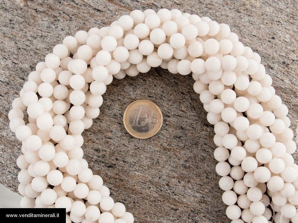 Filo a catena di sfere di Barite da 8 mm
