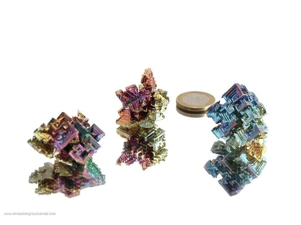 Cristalli di bismuto - 0,5 kg (sint.)