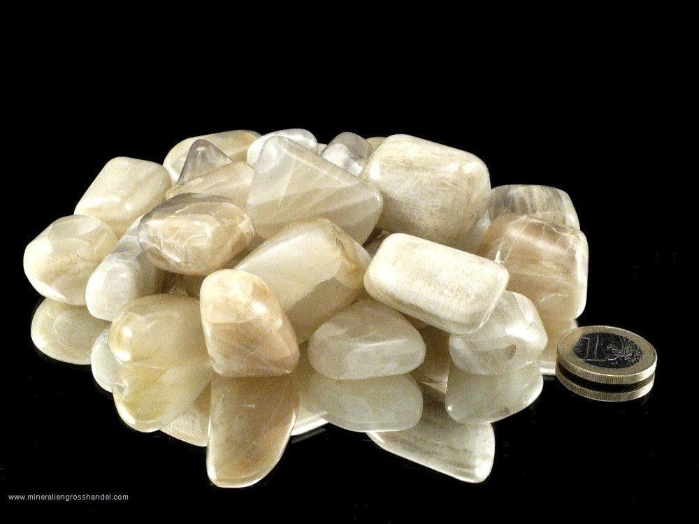 Pietre con pietre di luna - 0,5 kg
