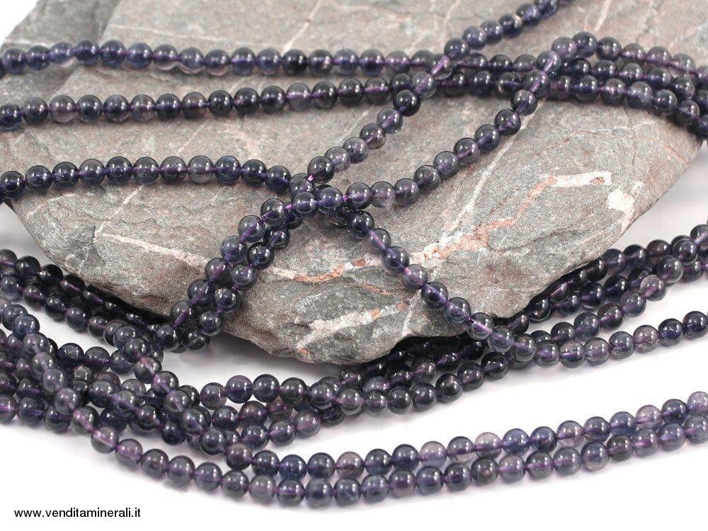 Filo di ferro Cordierite (Iolite) 6 mm