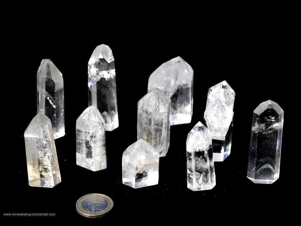 Cristalli fantasma lucidati - 0,5 kg