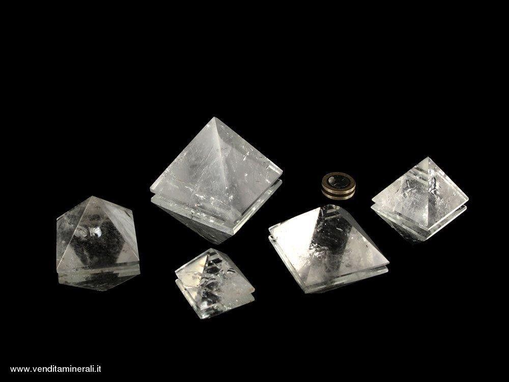 Piramidi di cristallo di rocca - 0,5 kg