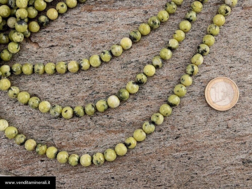 Filo della catena a sfera di Lizardite da 8 mm