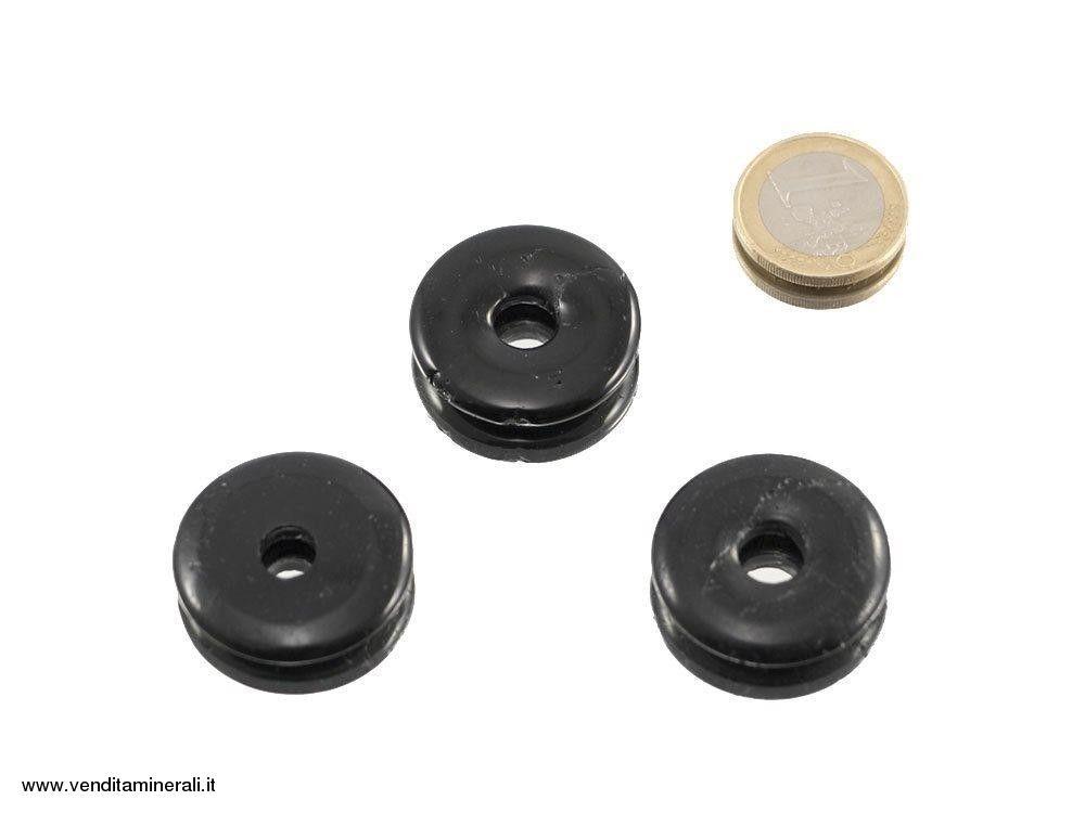 Tormalina nera a forma di ciambella - 30 mm