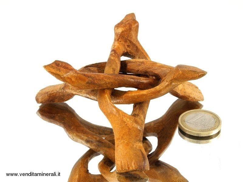 Supporto treppiede in legno - 1 pezzo