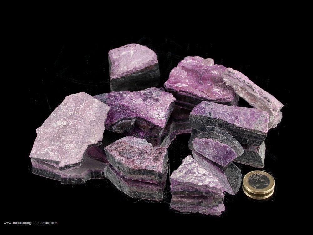 Pietre grezze di Sugilite - 0,1 kg