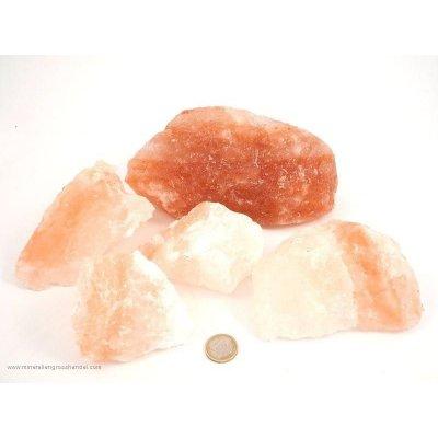 Sale cristallino - pietre grezze di cristallo di sale - 1 kg