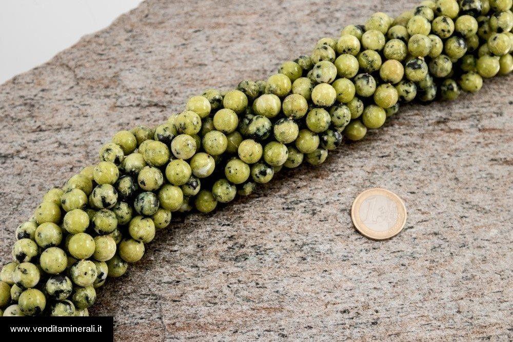 Filo della catena a sfera in Lizardite da 10 mm