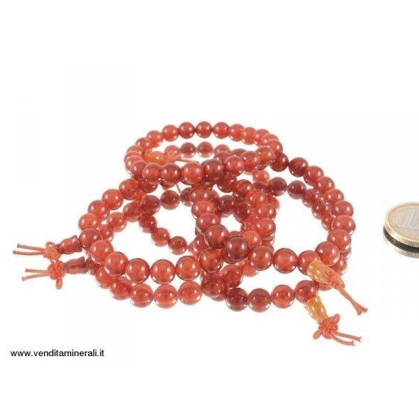 Bracciale di agata rossa - 1 pezzo
