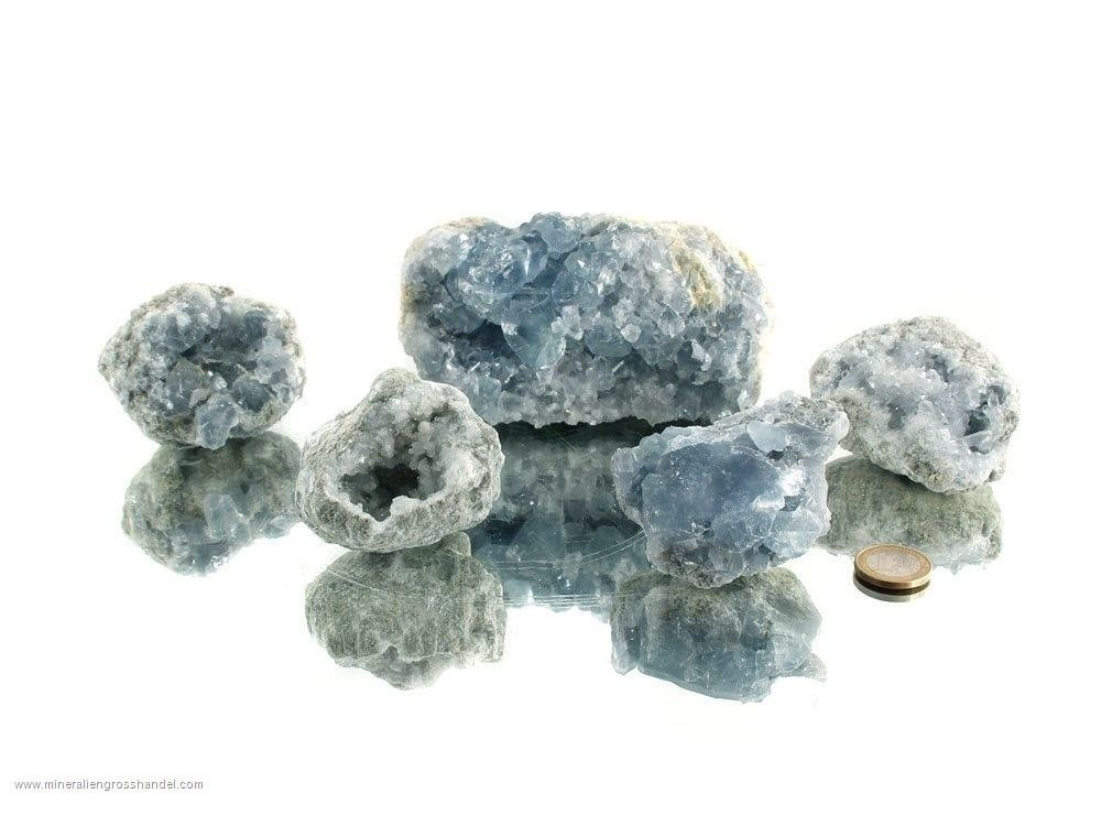 Celestine - Crystallo  Geoide Qualità - B 1 kg