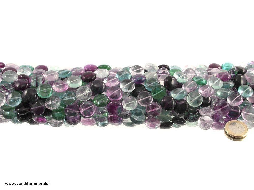 Filo di catena di dischi di fluorite