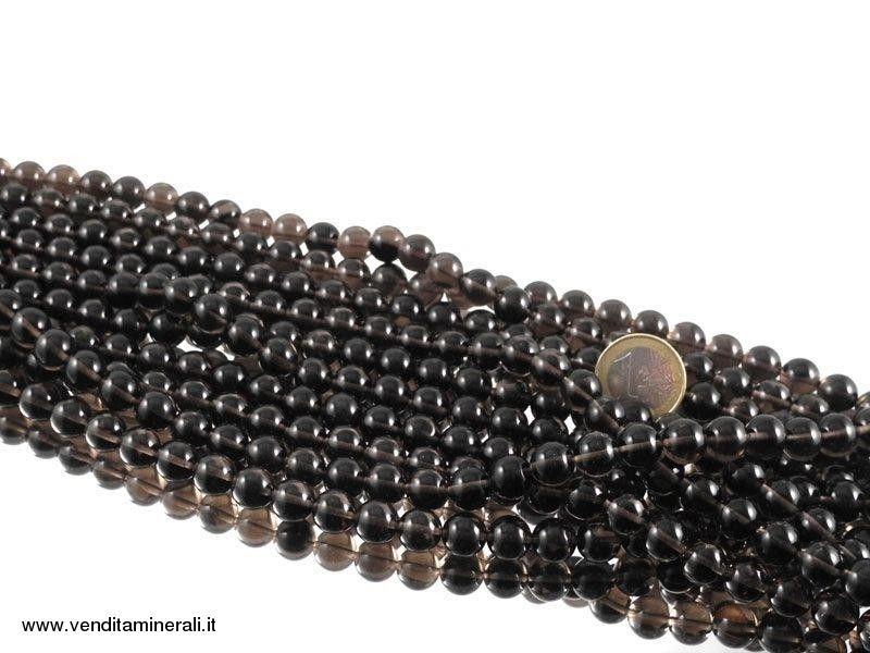 Filo di catena di ossidiana lamellare 10 mm