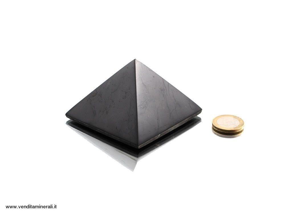 Piramide di shungite 5 cm