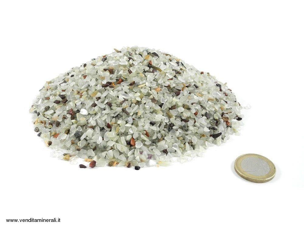 Prehnite - micro pietre burattate 0,5 kg