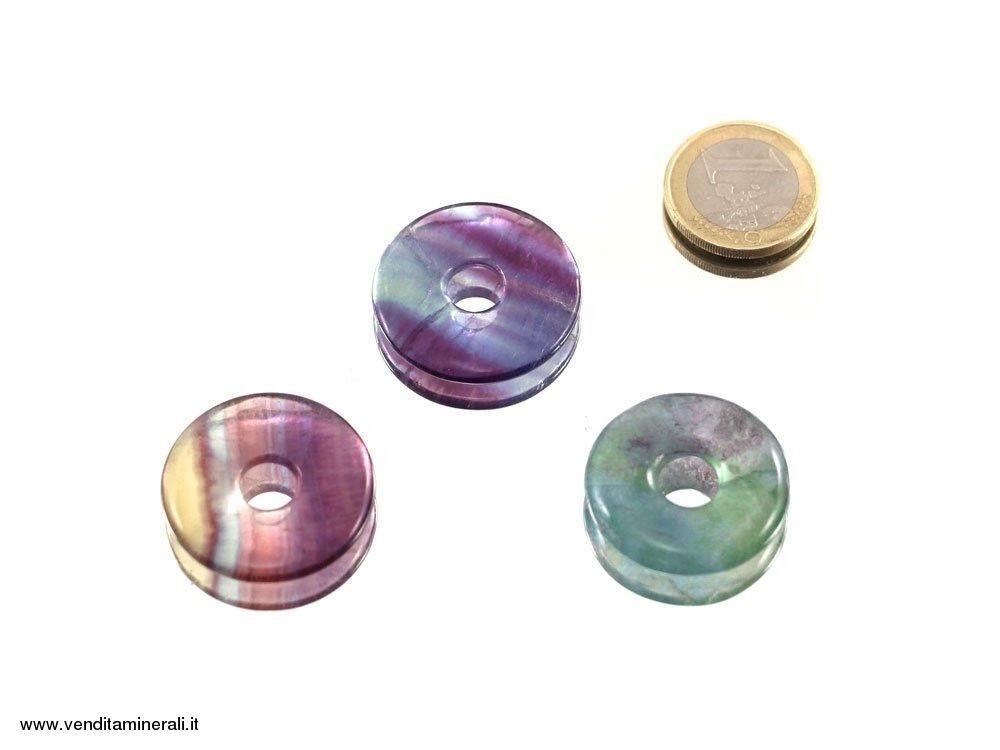 Fluorite a forma di ciambella - 30 mm