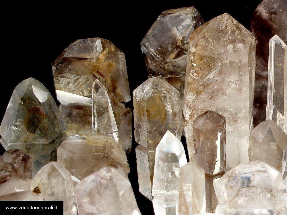 Lotto di inclusione cristallina di montagna - Madagascar