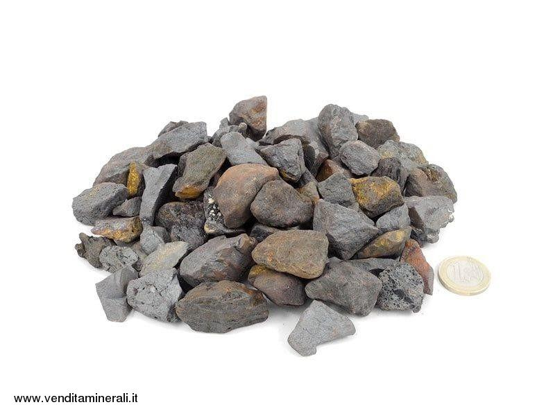 Ematite - piccole pietre grezze (2-4 cm) - 1 kg