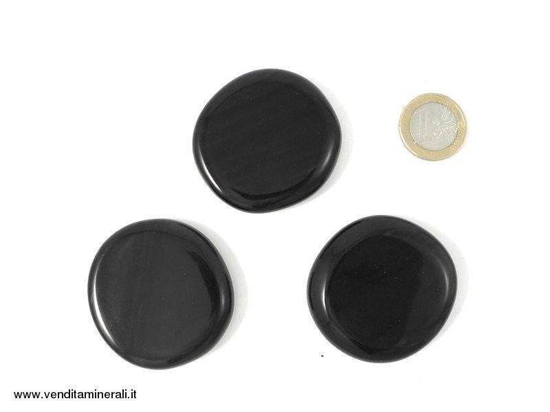 Pietre tascabili di ossidiana lamellare - 0,5 kg