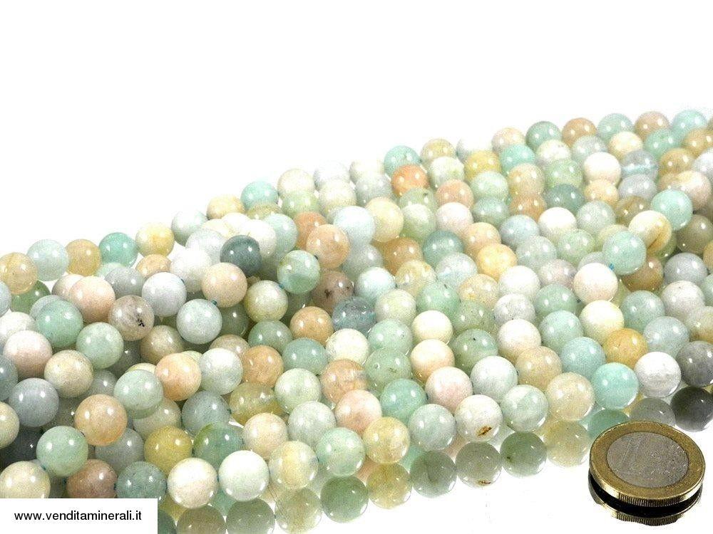 Filo a catena in berilio multicolore da 10 mm