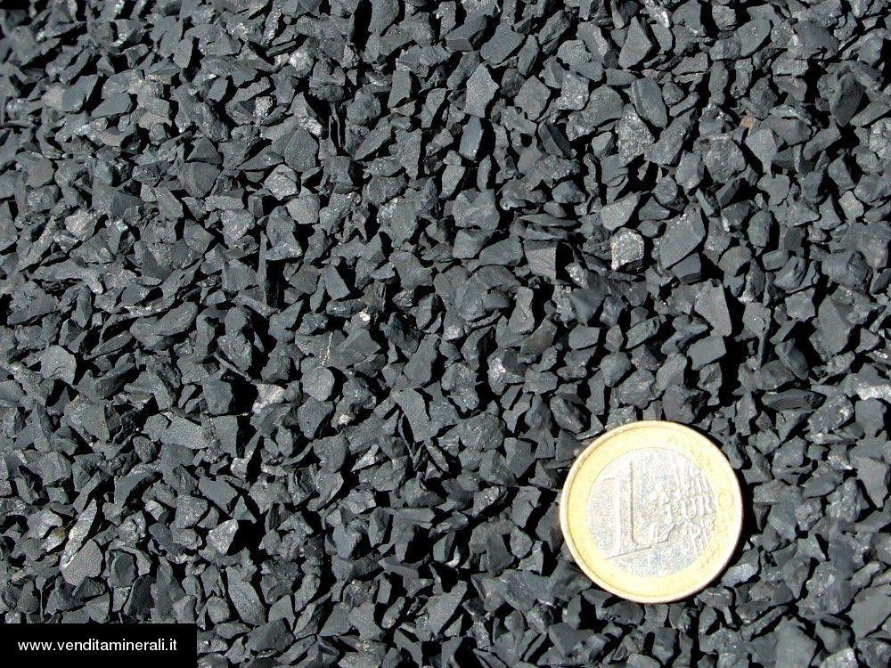 Granuli di shungite 3 - 5 mm - 1 kg