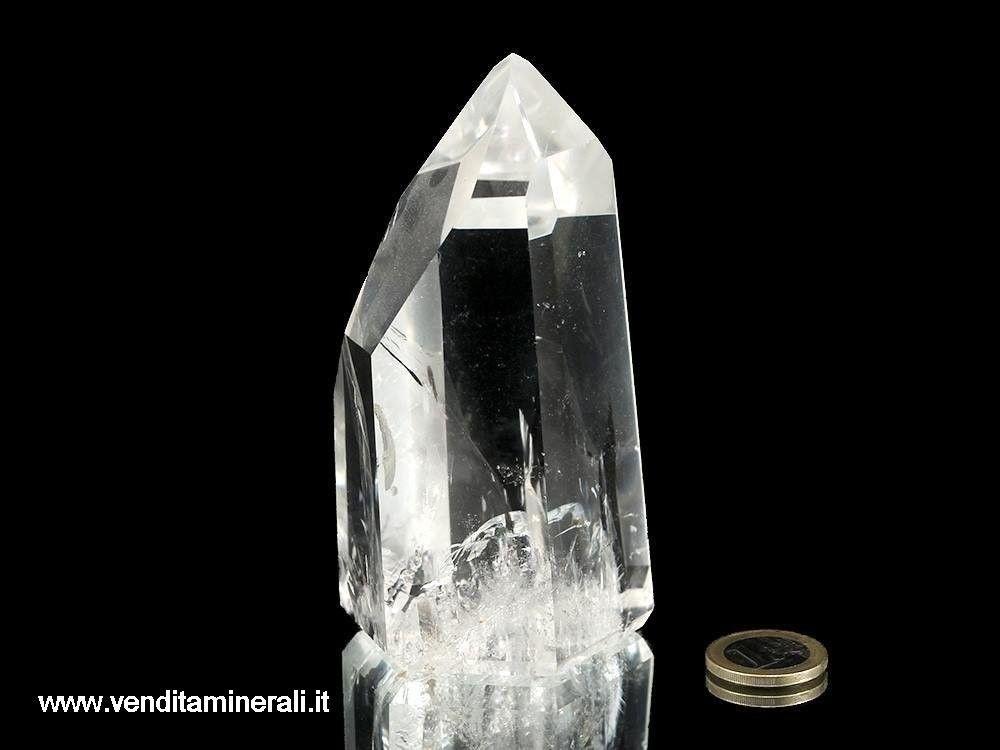 Cristallo di roccia estremamente chiaro e lucido