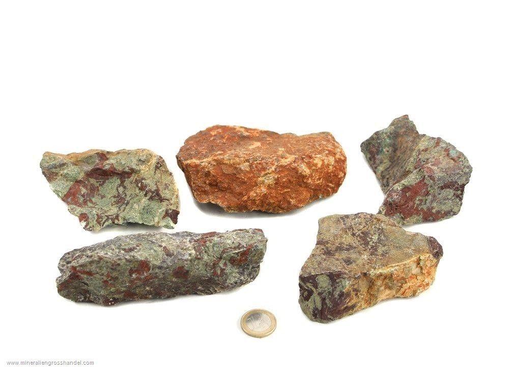 Pietre grezze di Diaspro del drago - 1 kg
