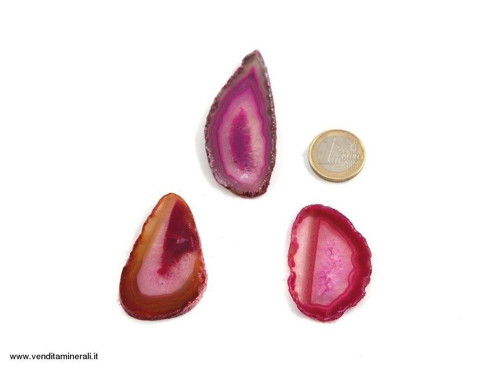 Agata sezionata rosa piccola  - 1 pezzo