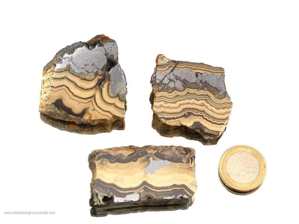 Sfalerite / Galena / Galena pietra ruvida smussata