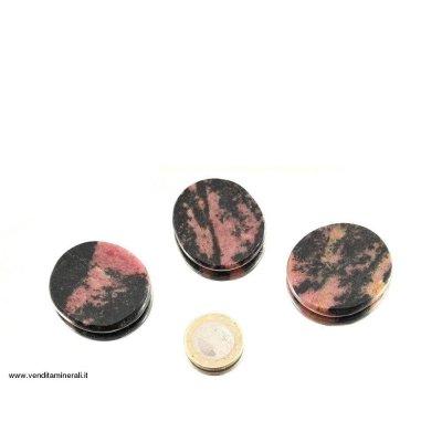 Rhodonite piatta - 1 pezzo