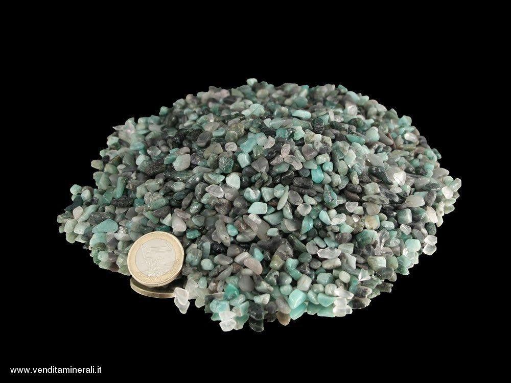 Ciottoli di smeraldo - 0,25 kg