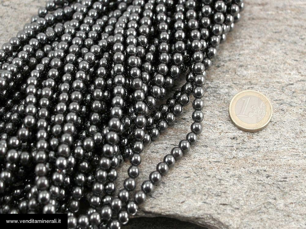 Catena di ematite 5 mm