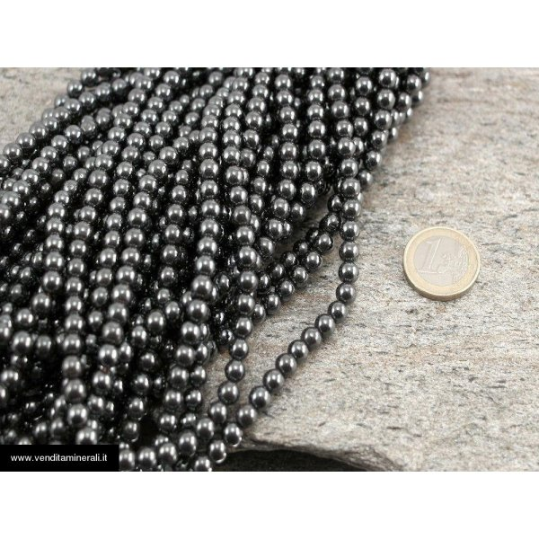 Catena di ematite 5 mm
