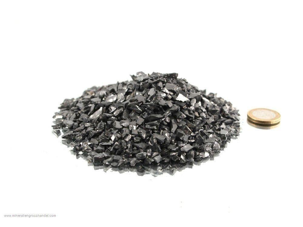 Pietre ruvide di Shungite preziosa  - 0,2 kg