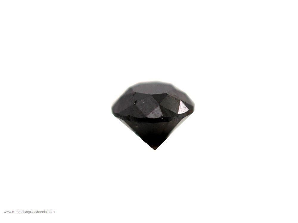 Diamante nero sfaccettato - 1,7 ct!