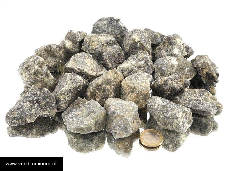 Labradorite - piccole pietre grezze (2-5 cm) - 1 kg