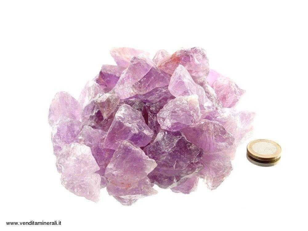 Ametista piccole pietre grezze - (2-4 cm) - 1 kg