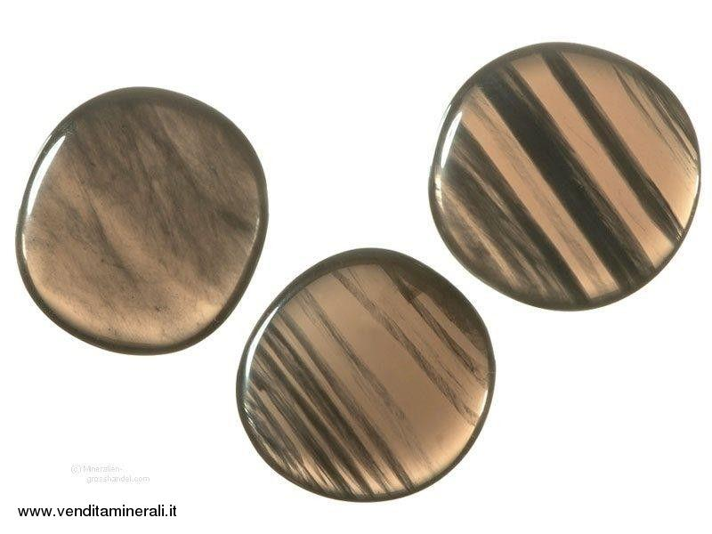 Pietre tascabili di lamelle d'ossidiana -1 pezzo