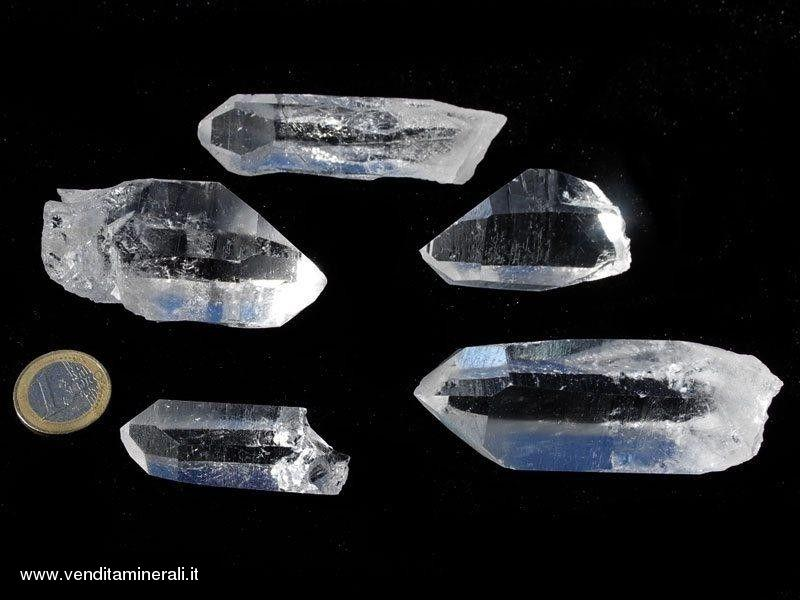 Punte di cristallo di rocca -SUPER EXTRA 0,5 kg