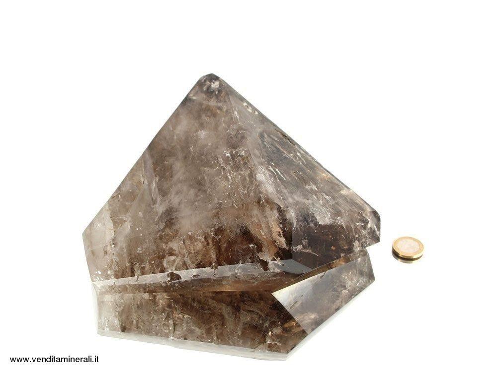 Cristallo ibrido - Cristallo di rocca / Quarzo fumé