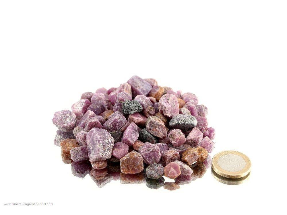 Cristalli di rubino naturale - 0,5 kg