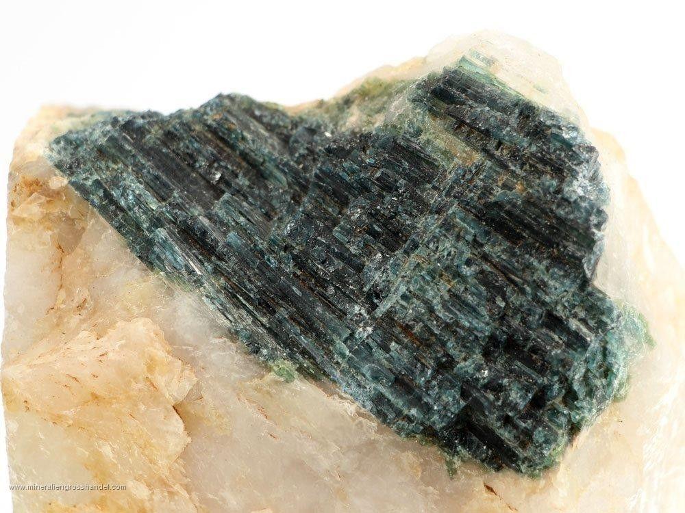 Tormalina blu / verde - pezzi matrice 1 kg